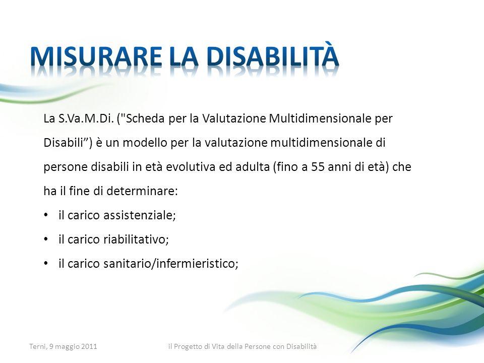 Misurare la disabilità