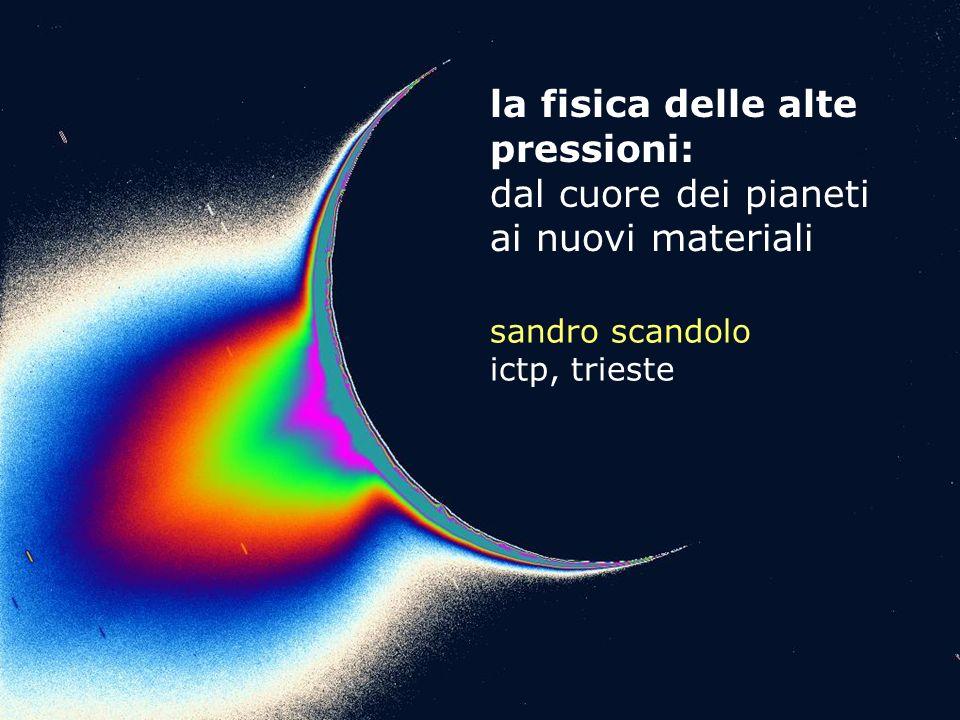 la fisica delle alte pressioni: dal cuore dei pianeti