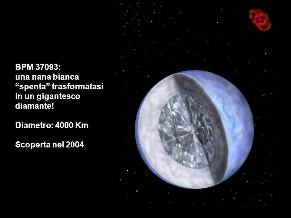 BPM 37093: una nana bianca. spenta trasformatasi in un gigantesco diamante.