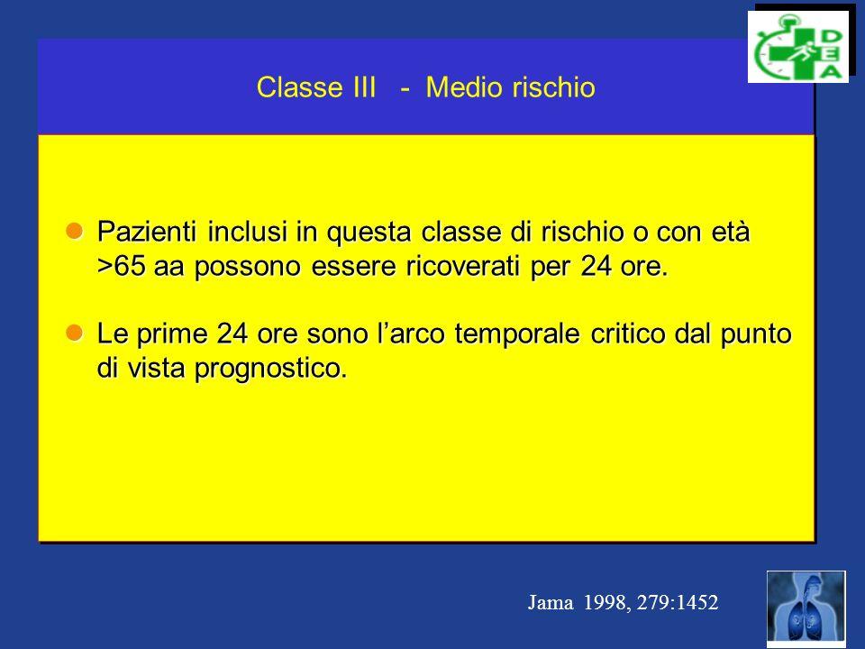 Classe III - Medio rischio
