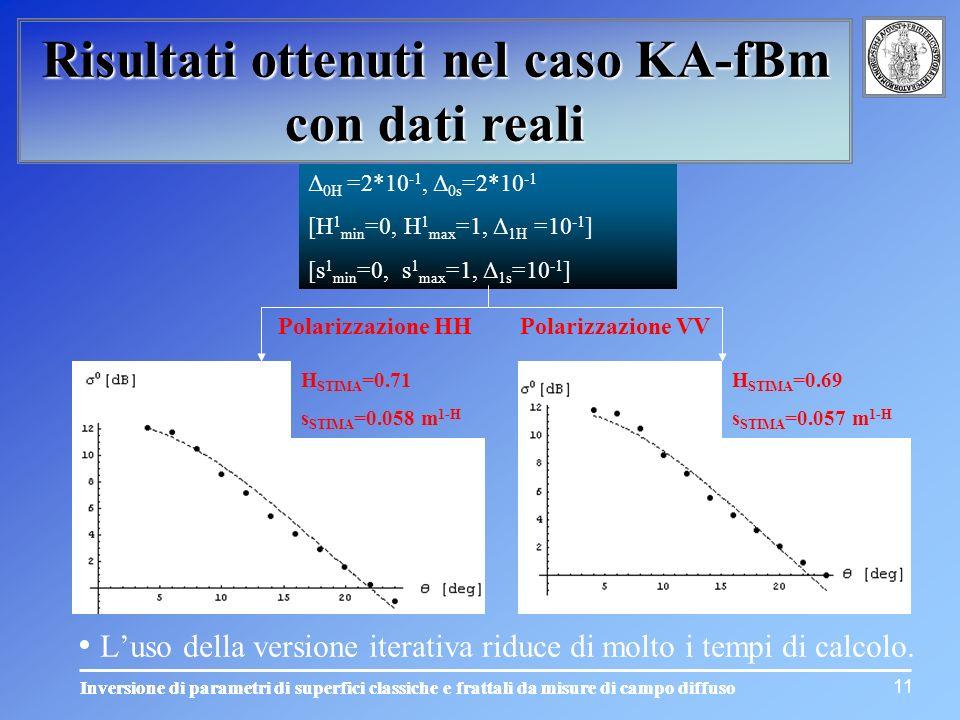 L'uso della versione iterativa riduce di molto i tempi di calcolo.