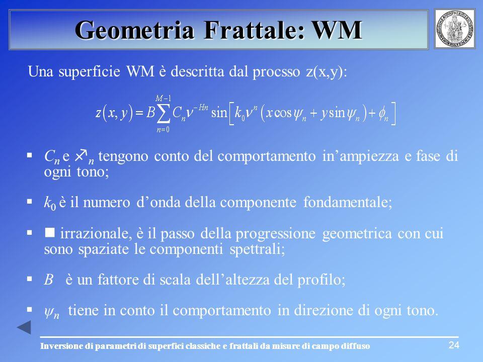 Geometria Frattale: WM