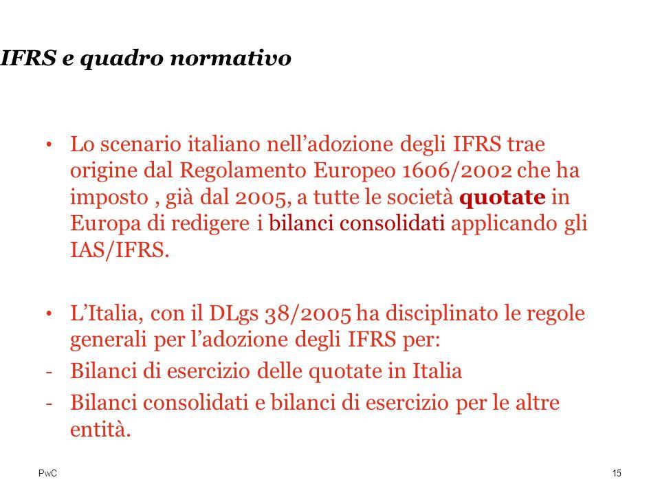 IFRS e quadro normativo