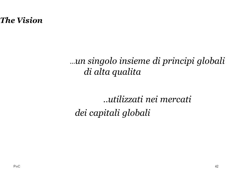 ..utilizzati nei mercati dei capitali globali
