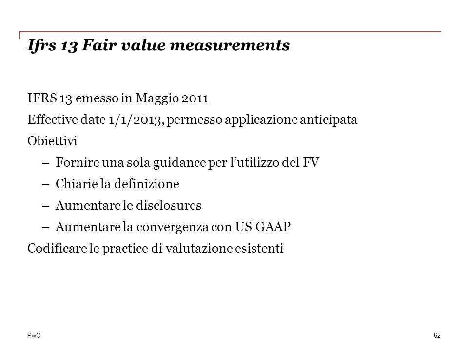 Ifrs 13 Fair value measurements