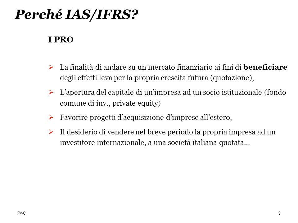 Perché IAS/IFRS I PRO.