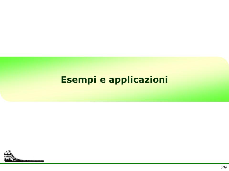 Esempi e applicazioni