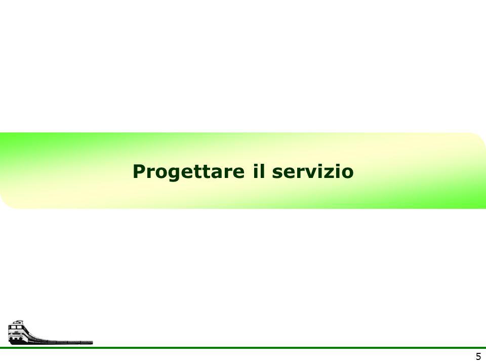 Progettare il servizio