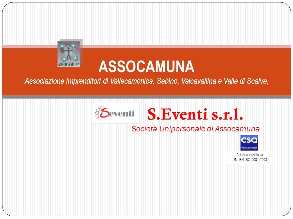 S.Eventi s.r.l. Società Unipersonale di Assocamuna