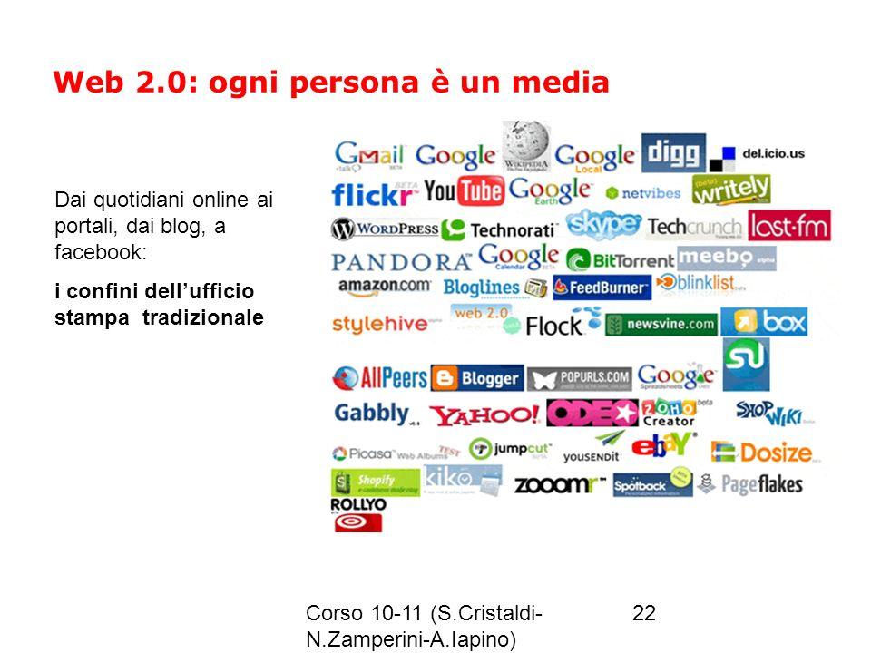 Web 2.0: ogni persona è un media