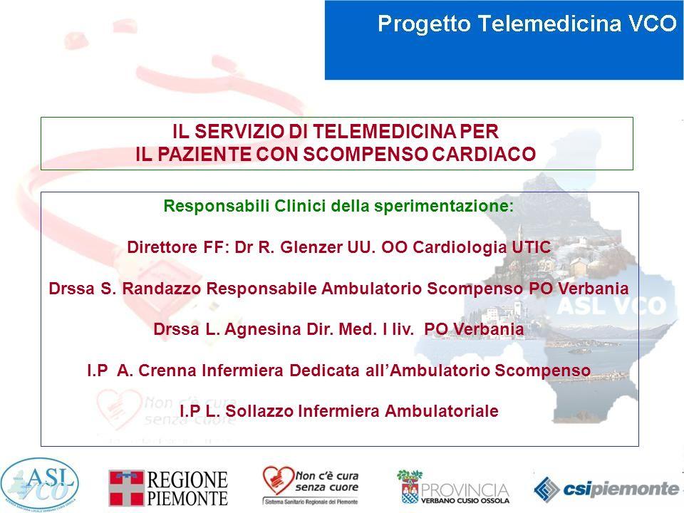 IL SERVIZIO DI TELEMEDICINA PER IL PAZIENTE CON SCOMPENSO CARDIACO