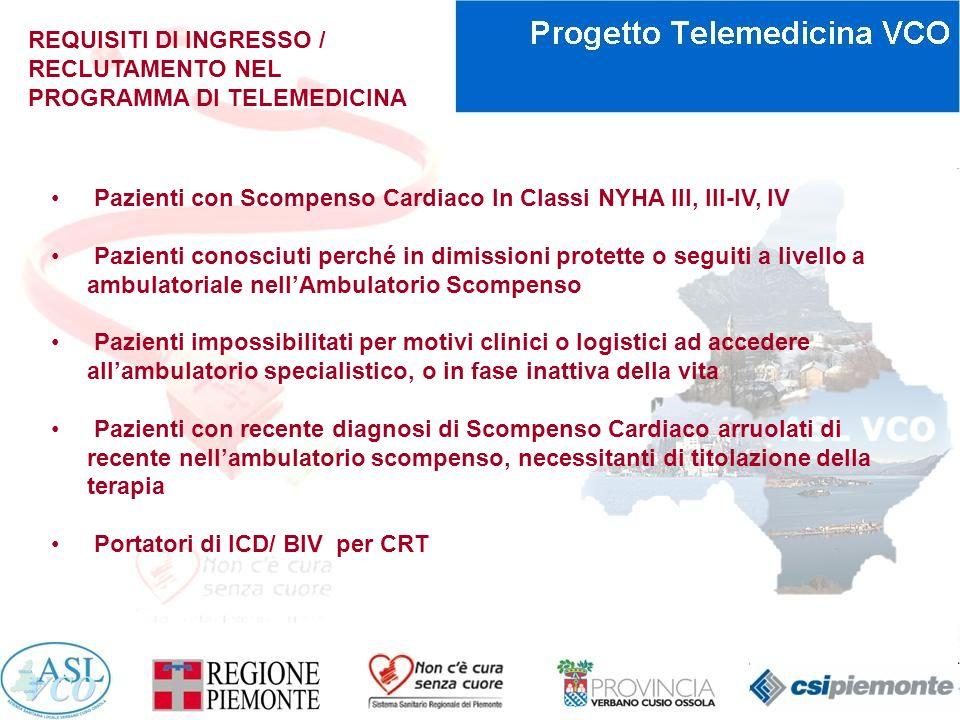 REQUISITI DI INGRESSO / RECLUTAMENTO NEL