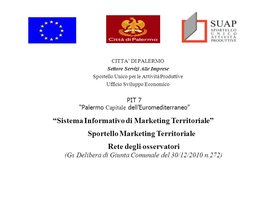 Sistema Informativo di Marketing Territoriale