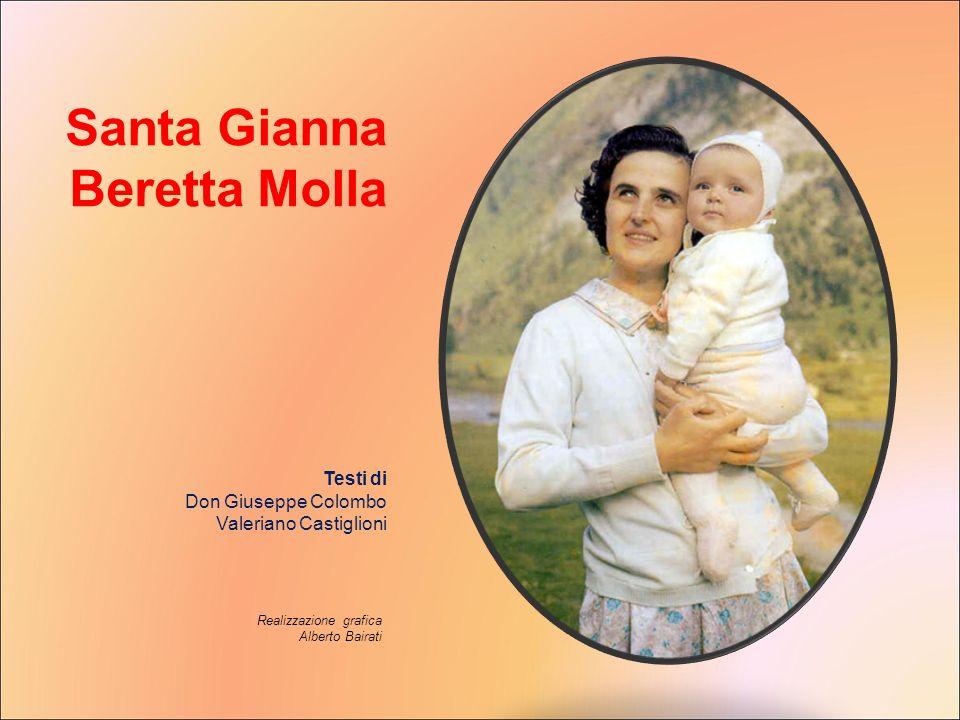 Santa Gianna Beretta Molla Testi di Don Giuseppe Colombo