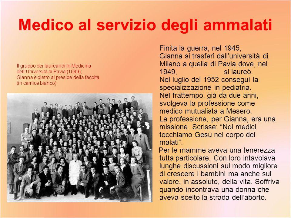 Medico al servizio degli ammalati
