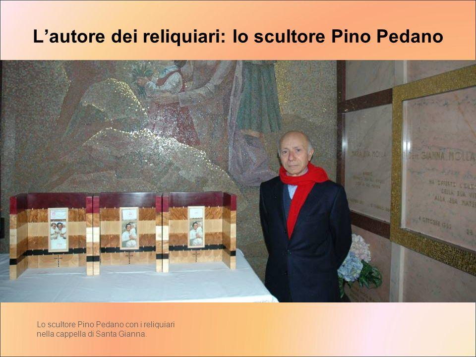 L'autore dei reliquiari: lo scultore Pino Pedano