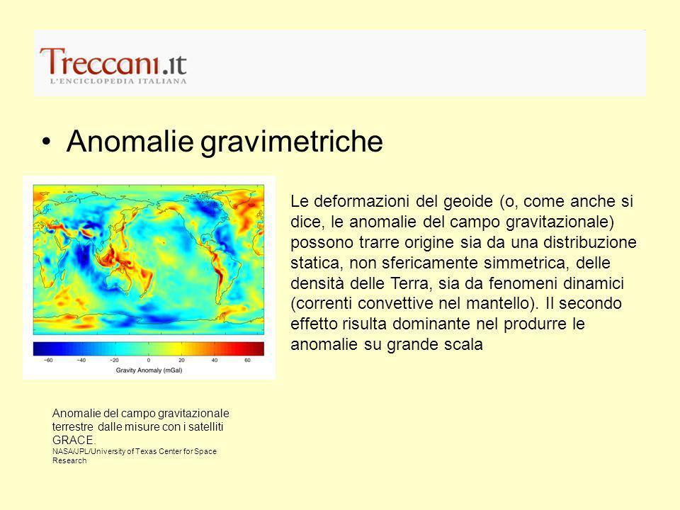 Anomalie gravimetriche