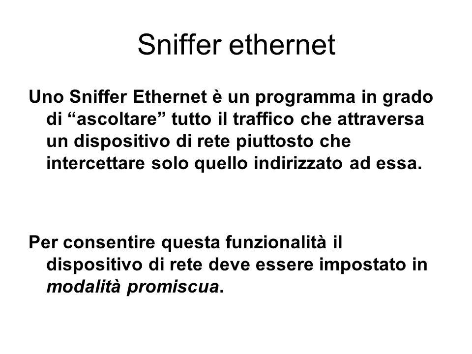 Sniffer ethernet