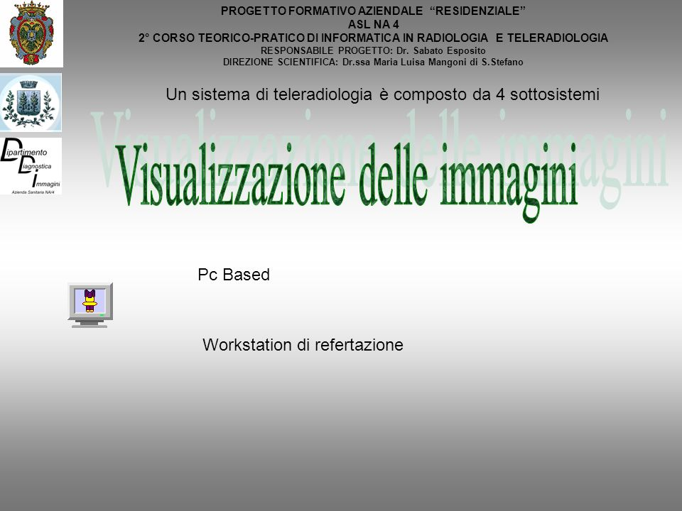 Visualizzazione delle immagini