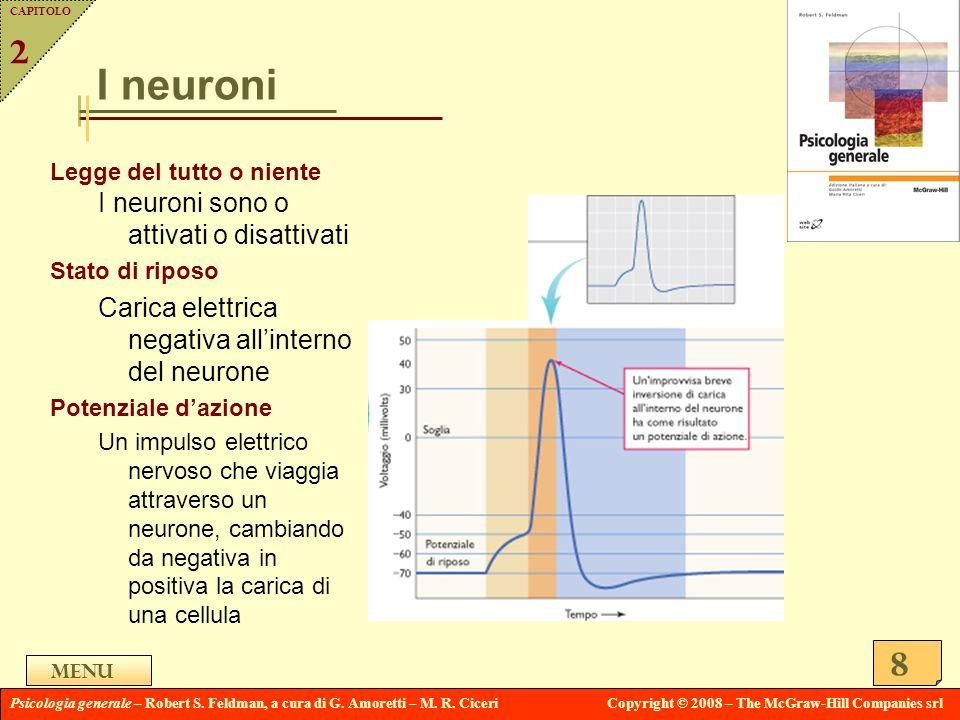 I neuroni 2 I neuroni sono o attivati o disattivati