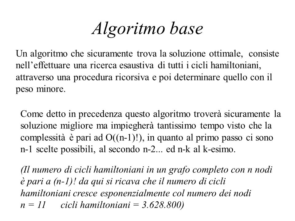 Algoritmo base