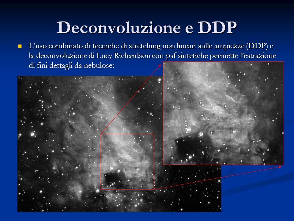 Deconvoluzione e DDP