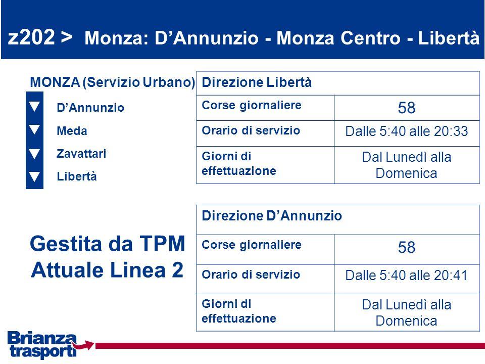 Gestita da TPM Attuale Linea 2