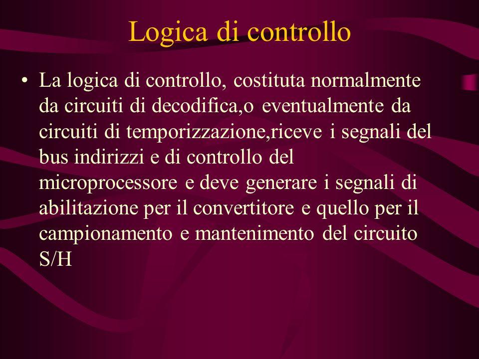 Logica di controllo