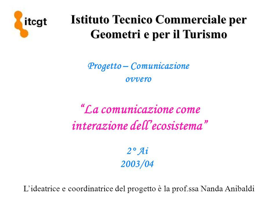 La comunicazione come interazione dell'ecosistema