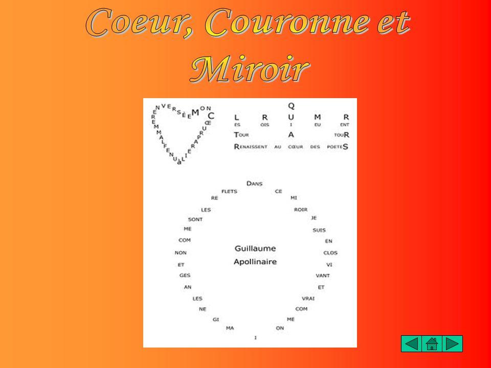 Coeur, Couronne et Miroir