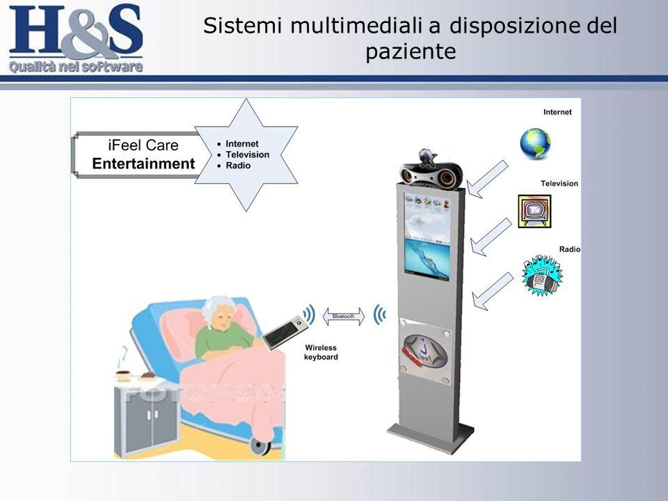 Sistemi multimediali a disposizione del paziente