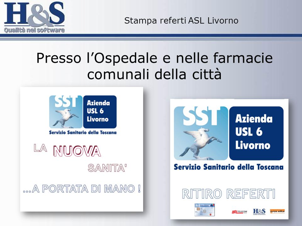 Stampa referti ASL Livorno