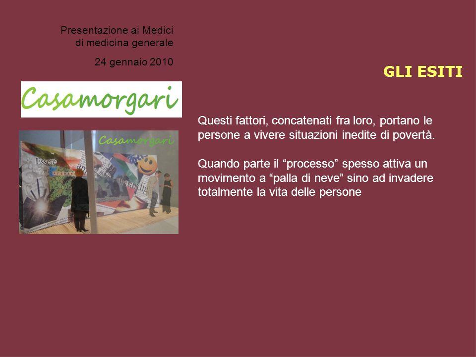 Presentazione ai Medici di medicina generale
