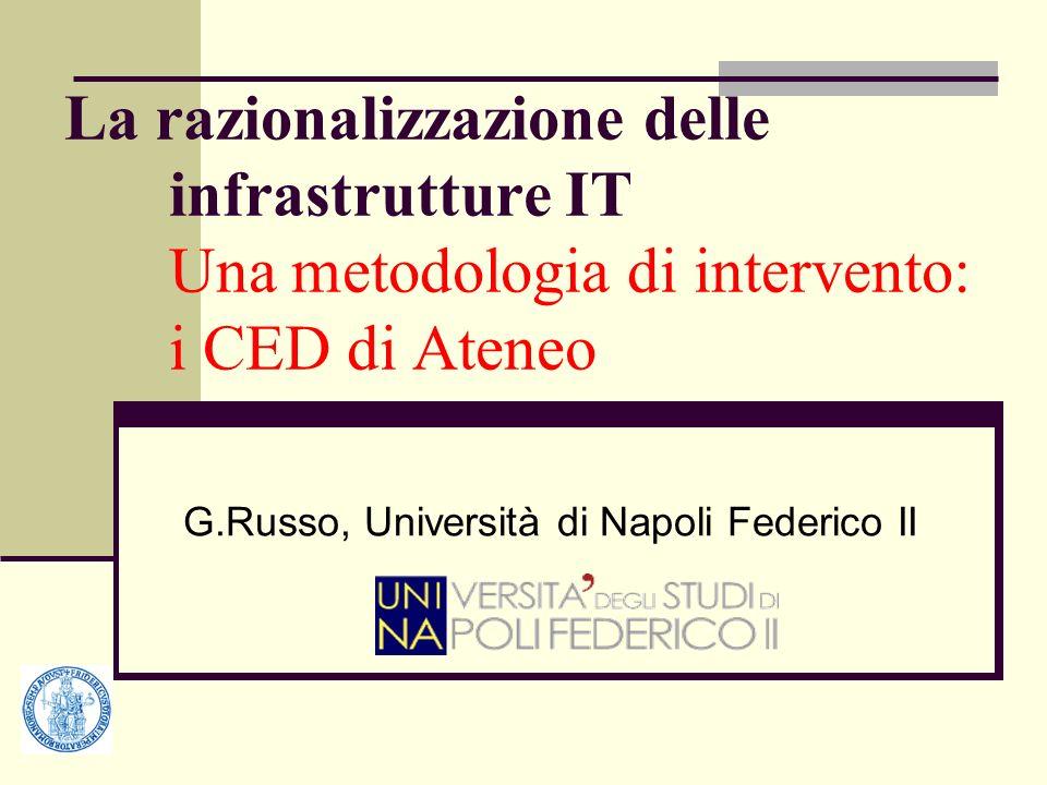 G.Russo, Università di Napoli Federico II