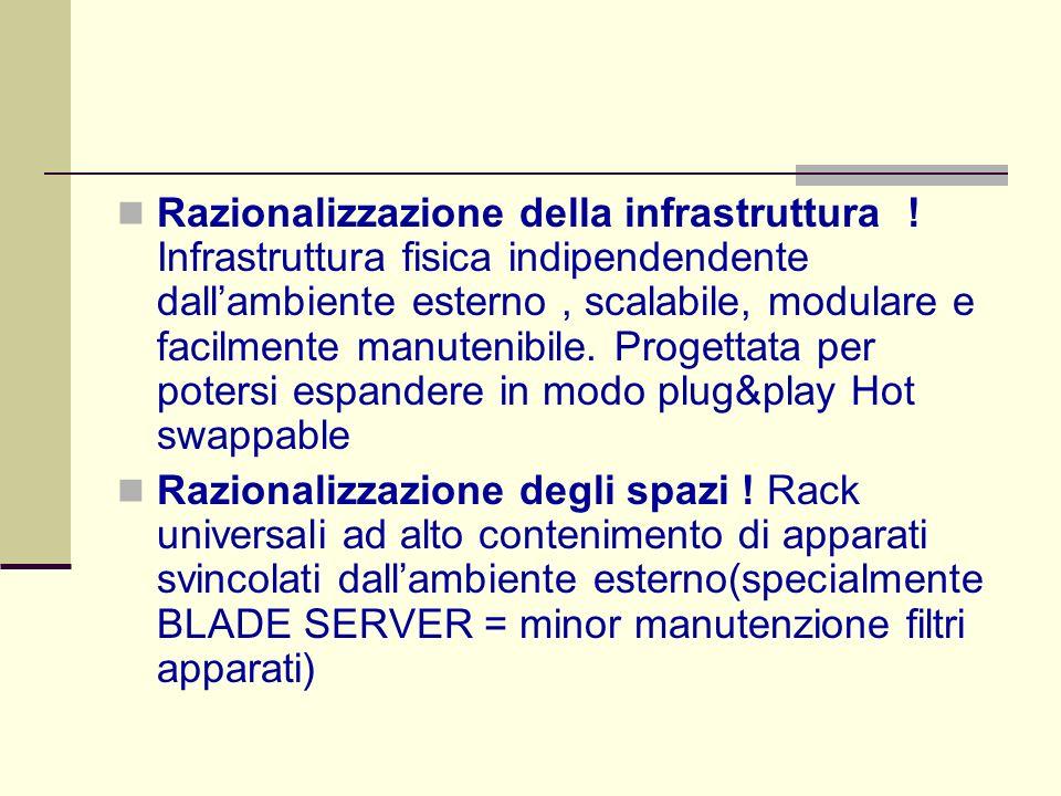 Razionalizzazione della infrastruttura