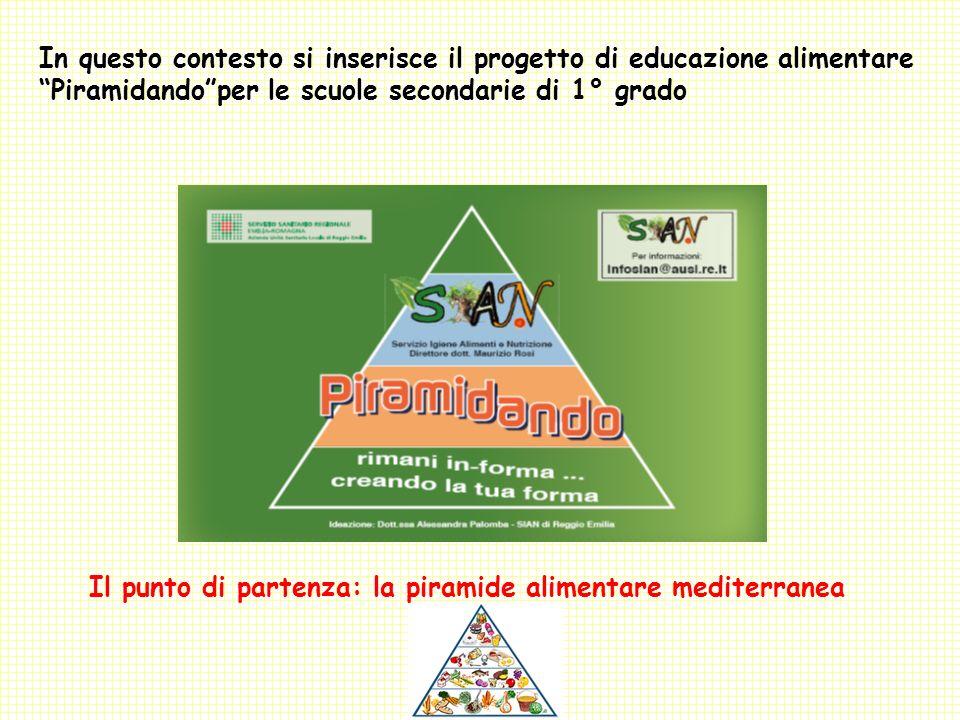 In questo contesto si inserisce il progetto di educazione alimentare