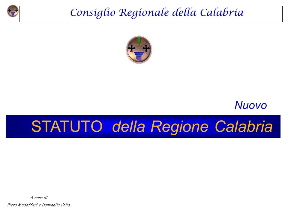 STATUTO della Regione Calabria