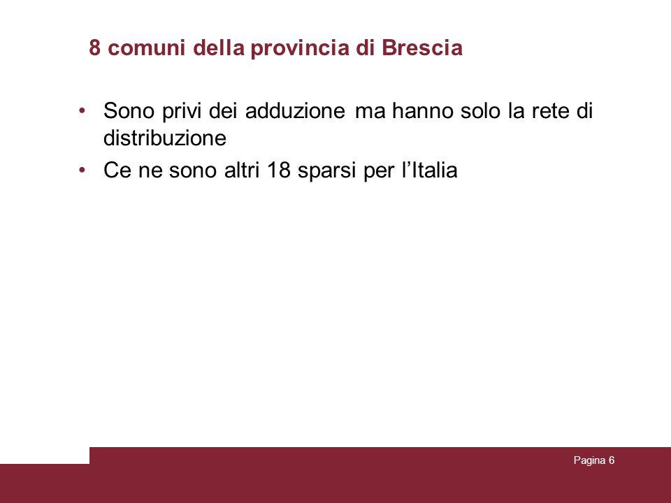 8 comuni della provincia di Brescia