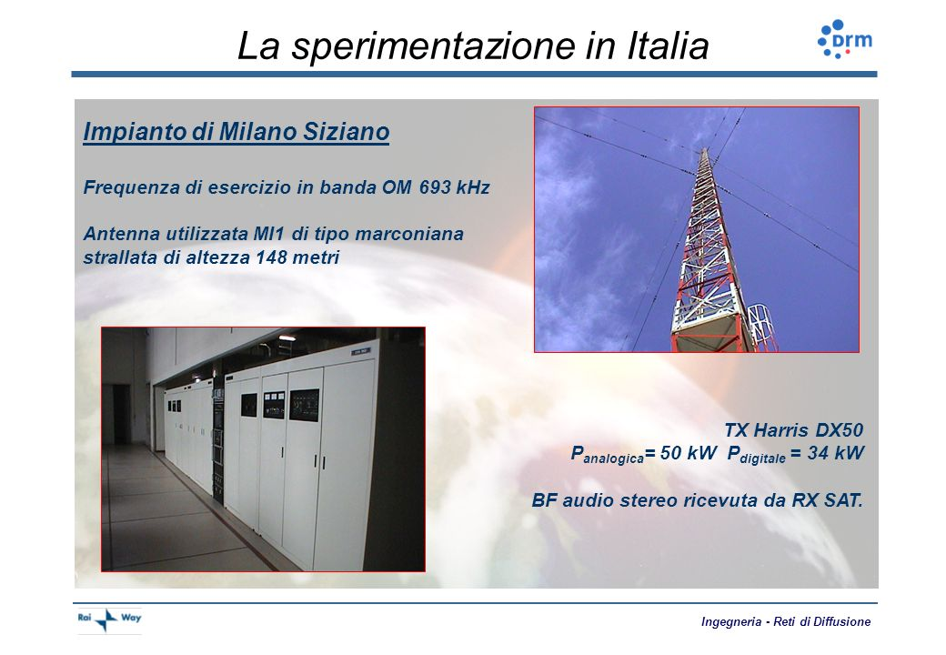 La sperimentazione in Italia