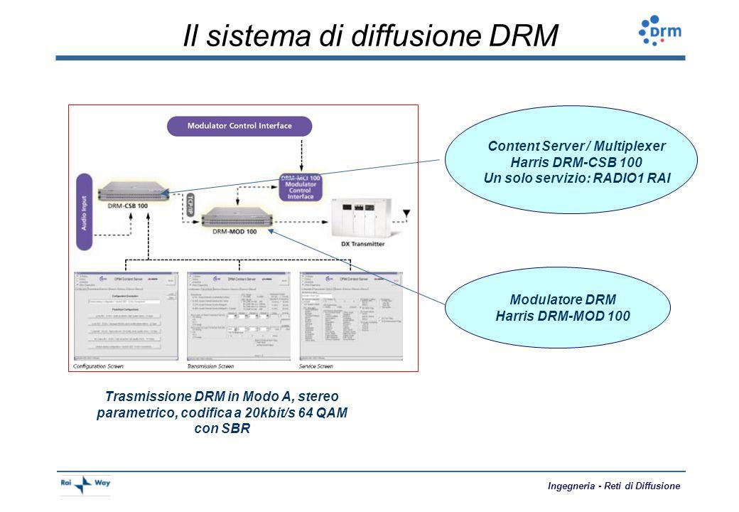 Il sistema di diffusione DRM