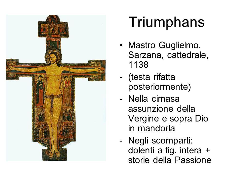 Triumphans Mastro Guglielmo, Sarzana, cattedrale, 1138