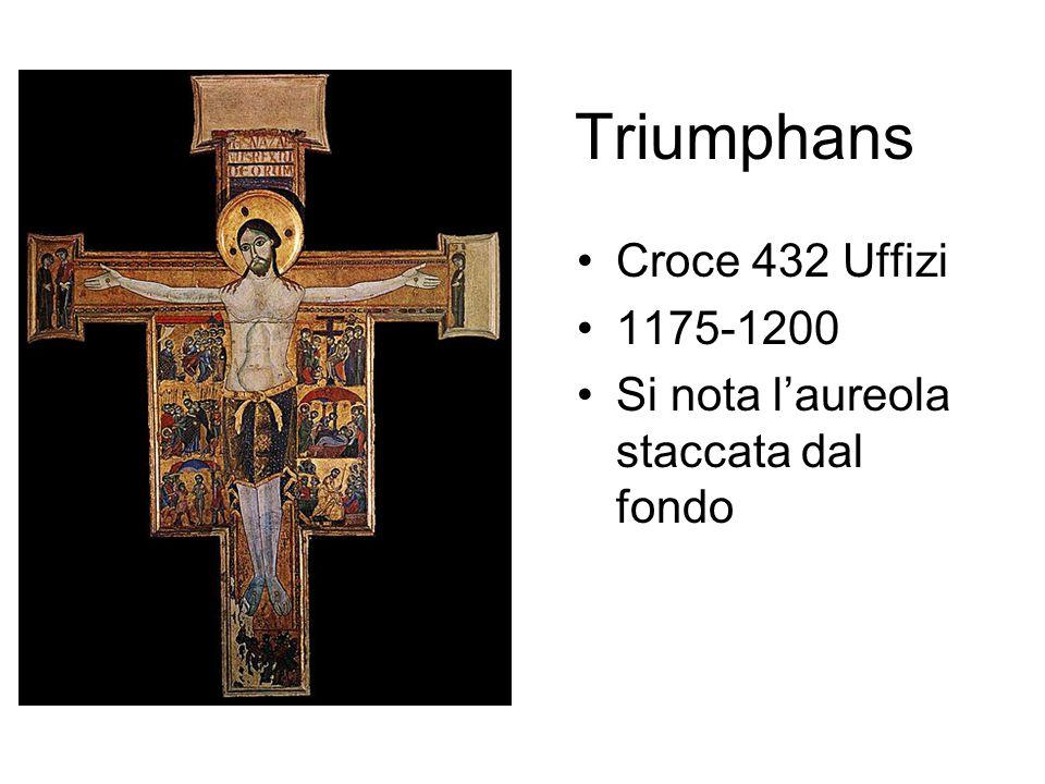 Triumphans Croce 432 Uffizi 1175-1200
