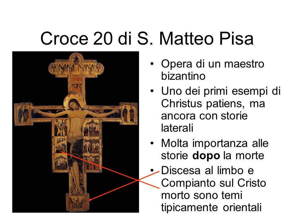 Croce 20 di S. Matteo Pisa Opera di un maestro bizantino