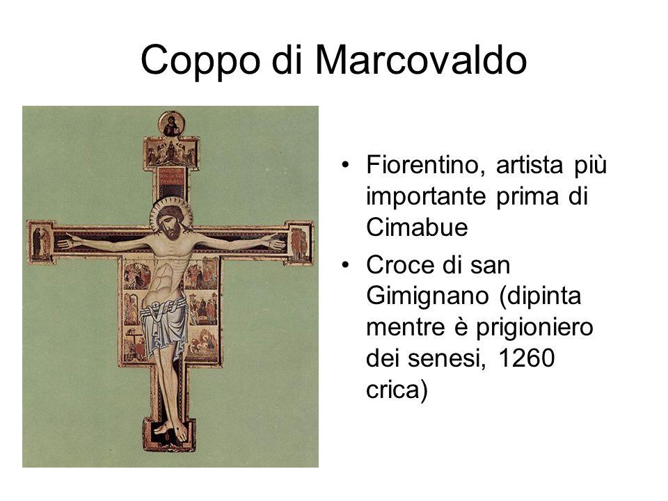 Coppo di Marcovaldo Fiorentino, artista più importante prima di Cimabue.