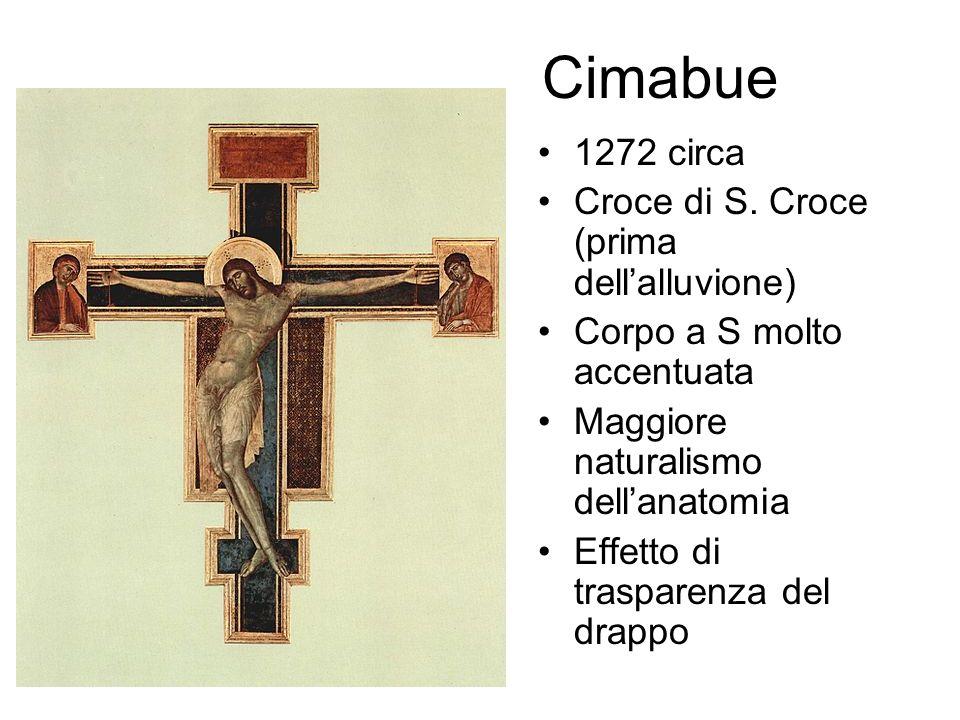 Cimabue 1272 circa Croce di S. Croce (prima dell'alluvione)