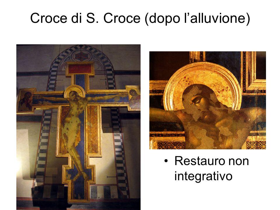 Croce di S. Croce (dopo l'alluvione)
