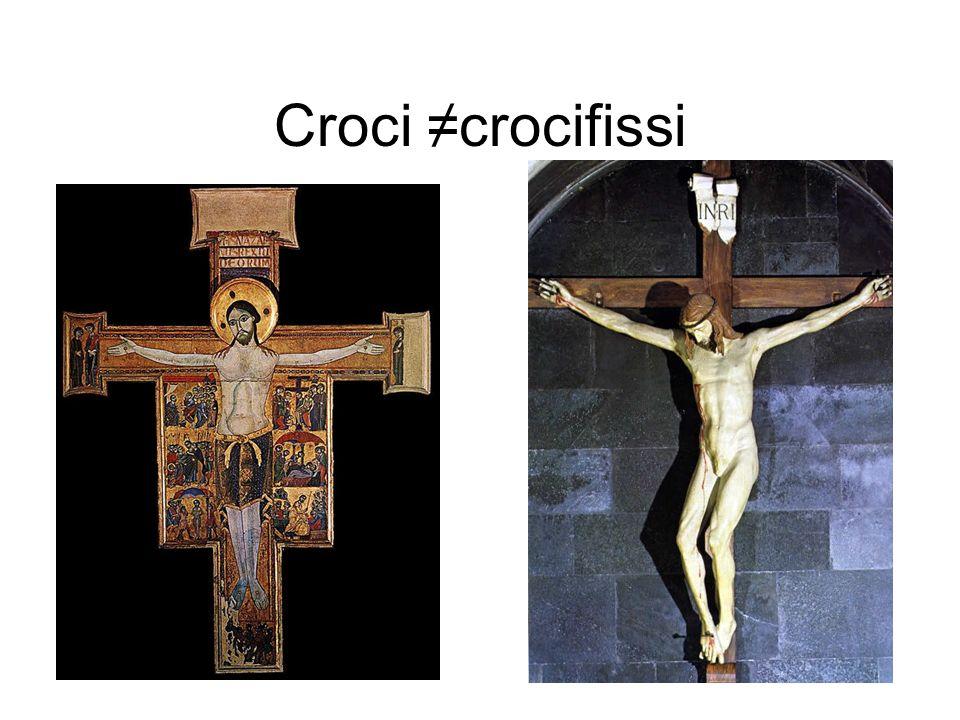 Croci ≠crocifissi