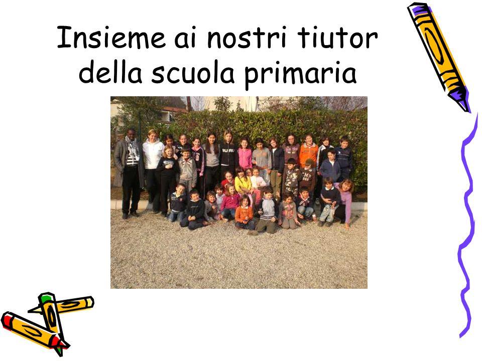 Insieme ai nostri tiutor della scuola primaria