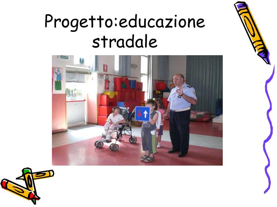 Progetto:educazione stradale
