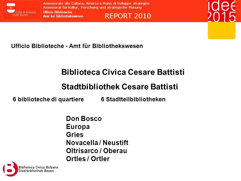 Biblioteca Civica Cesare Battisti Stadtbibliothek Cesare Battisti